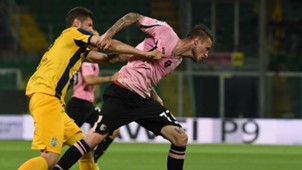 Paweł Wszolek Michel Morganella Palermo Verona Serie A 15/05/2016