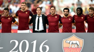 Totti Garcia Salah Gervinho Roma