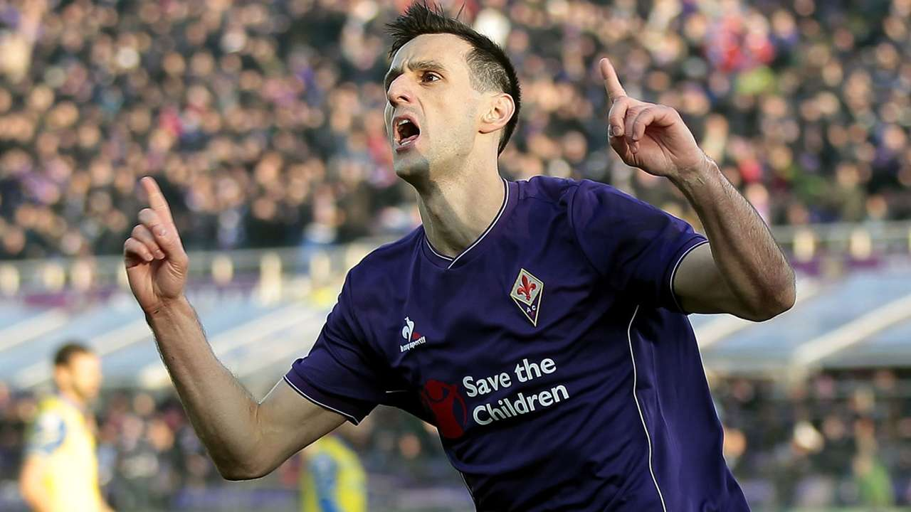 Nikola Kalinic Fiorentina Chievo Serie A
