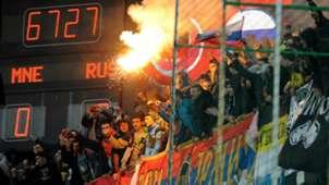 Montenegro-Russia suspended Euro 2016