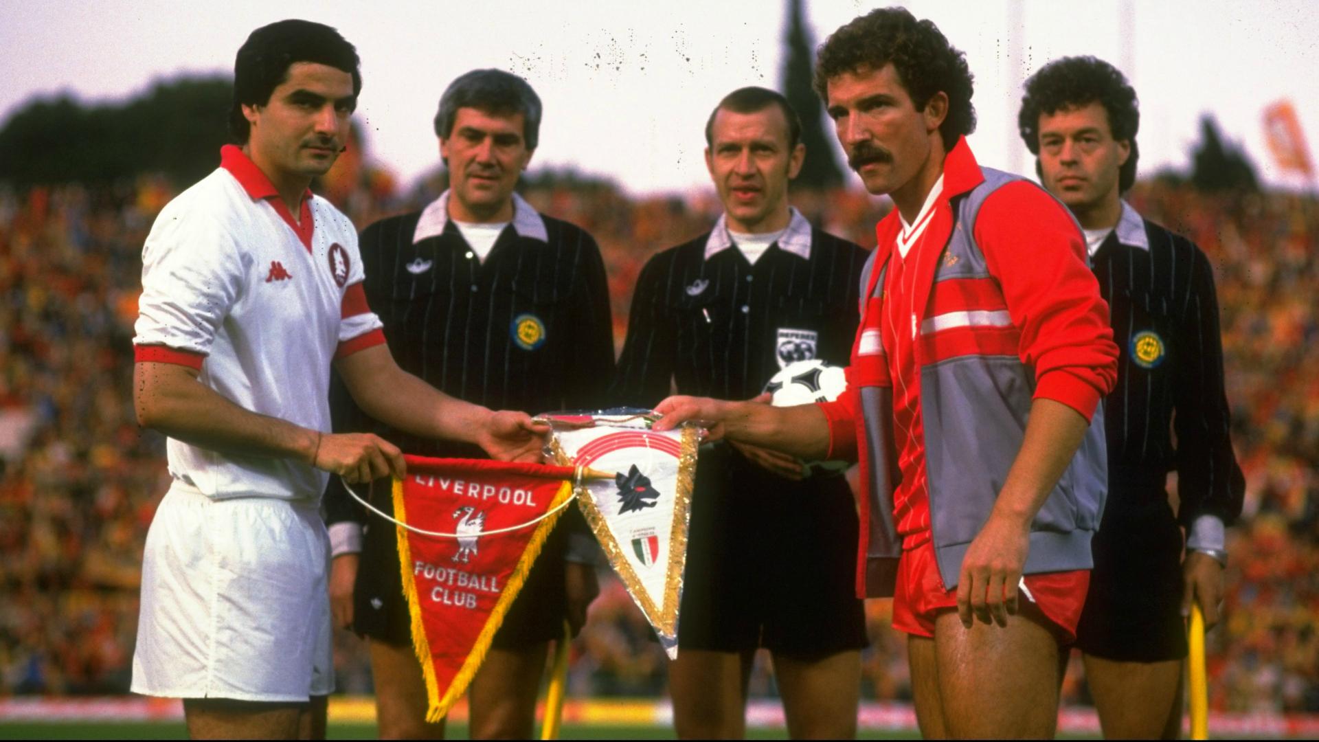 Roma Liverpool European Cup 1984