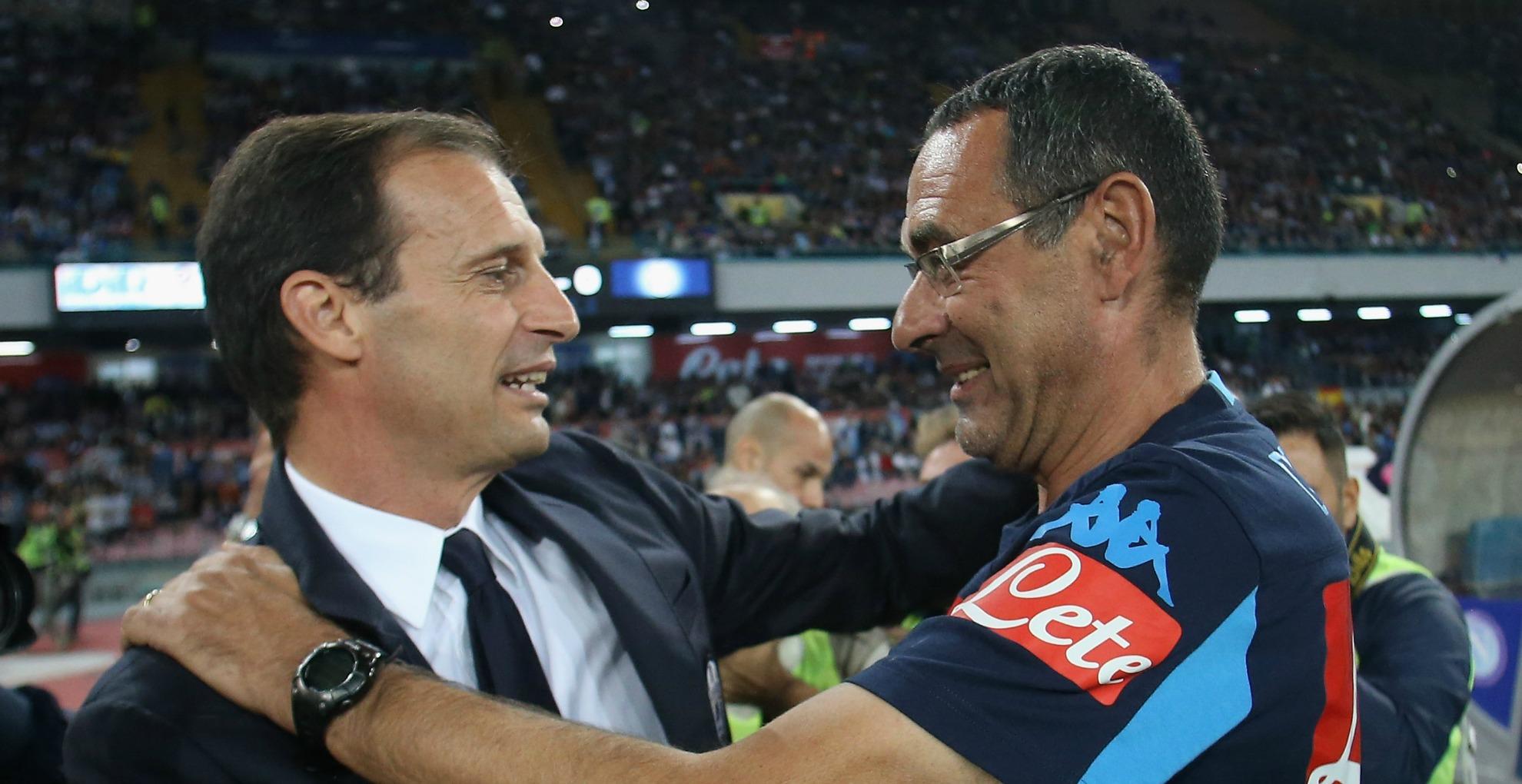 Juventus-Napoli, FORMAZIONI UFFICIALI: Sarri con i titolarissimi, Allegri sceglie Dybala
