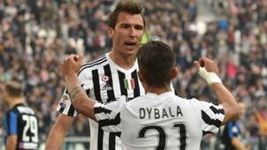 Mandzukic Dybala Juventus Atalanta Serie A
