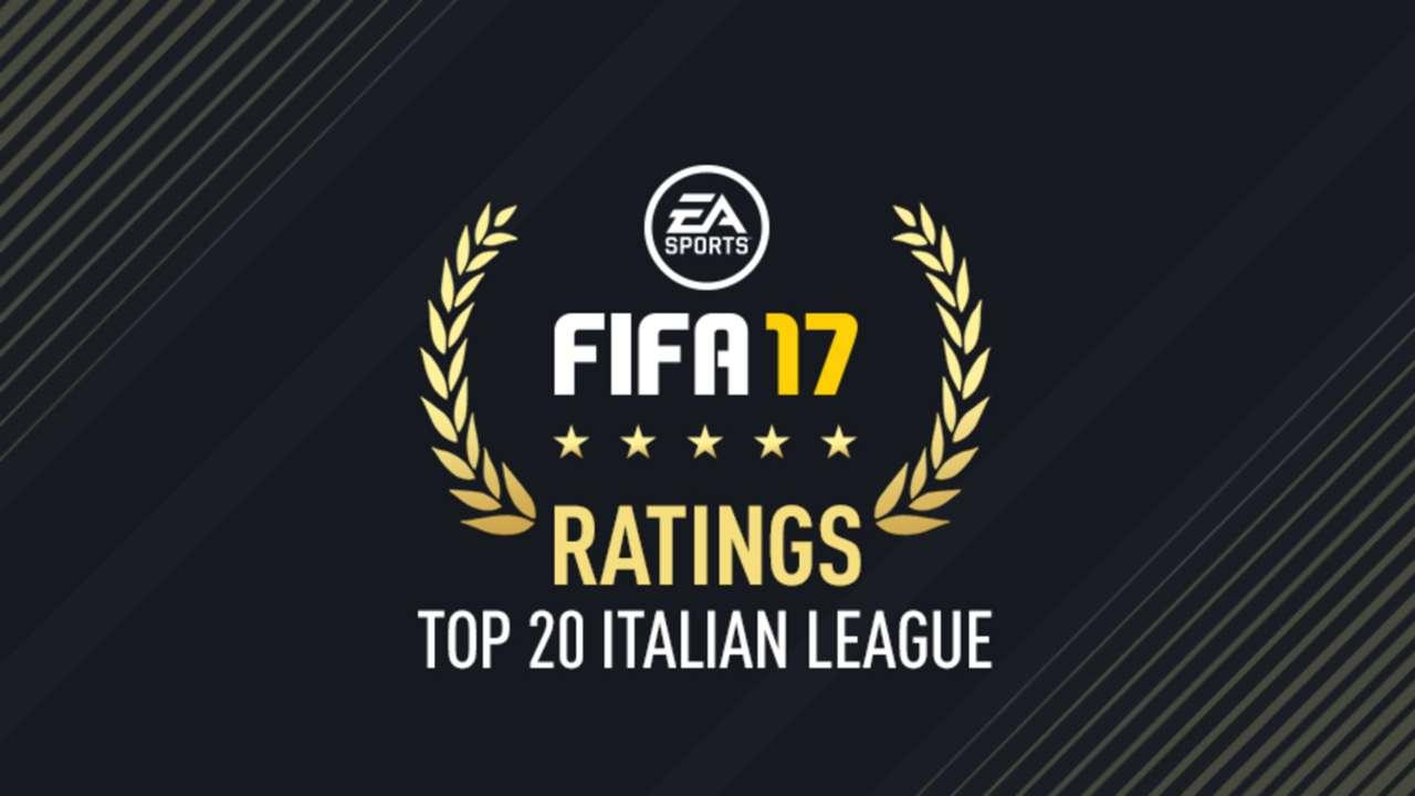 FIFA 17 Serie A Top 20