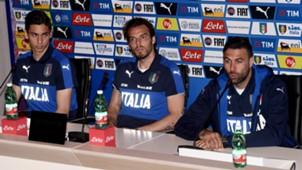Alex Meret, Federico Marchetti, Salvatore Sirigu - Italy