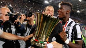 Allegri Pogba Juventus
