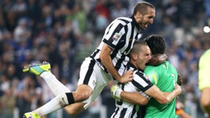 Bonucci Chiellini Buffon Juventus