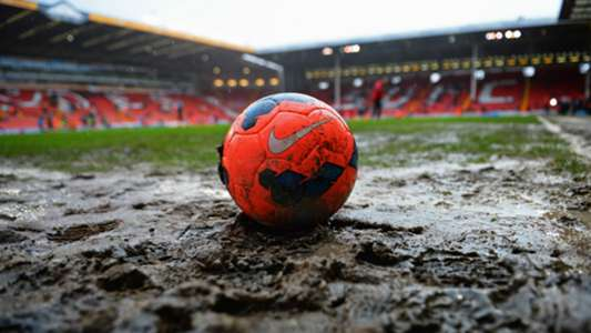 Ball in the mud