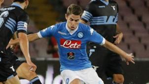Jorginho in action Napoli Lazio Serie A 20092015