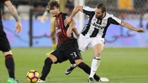 Locatelli Higuain Juventus Milan