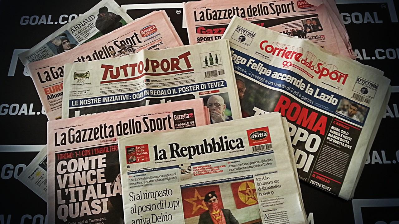 Rassegna stampa: le prime pagine sportive
