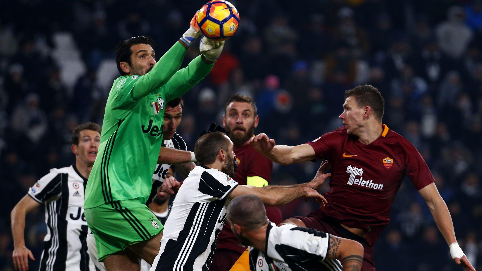 Gigi Buffon Juventus Roma Serie A