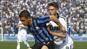 Carlos Carmona, Atalanta, Domenico Berardi, Sassuolo, Serie A, 12042015