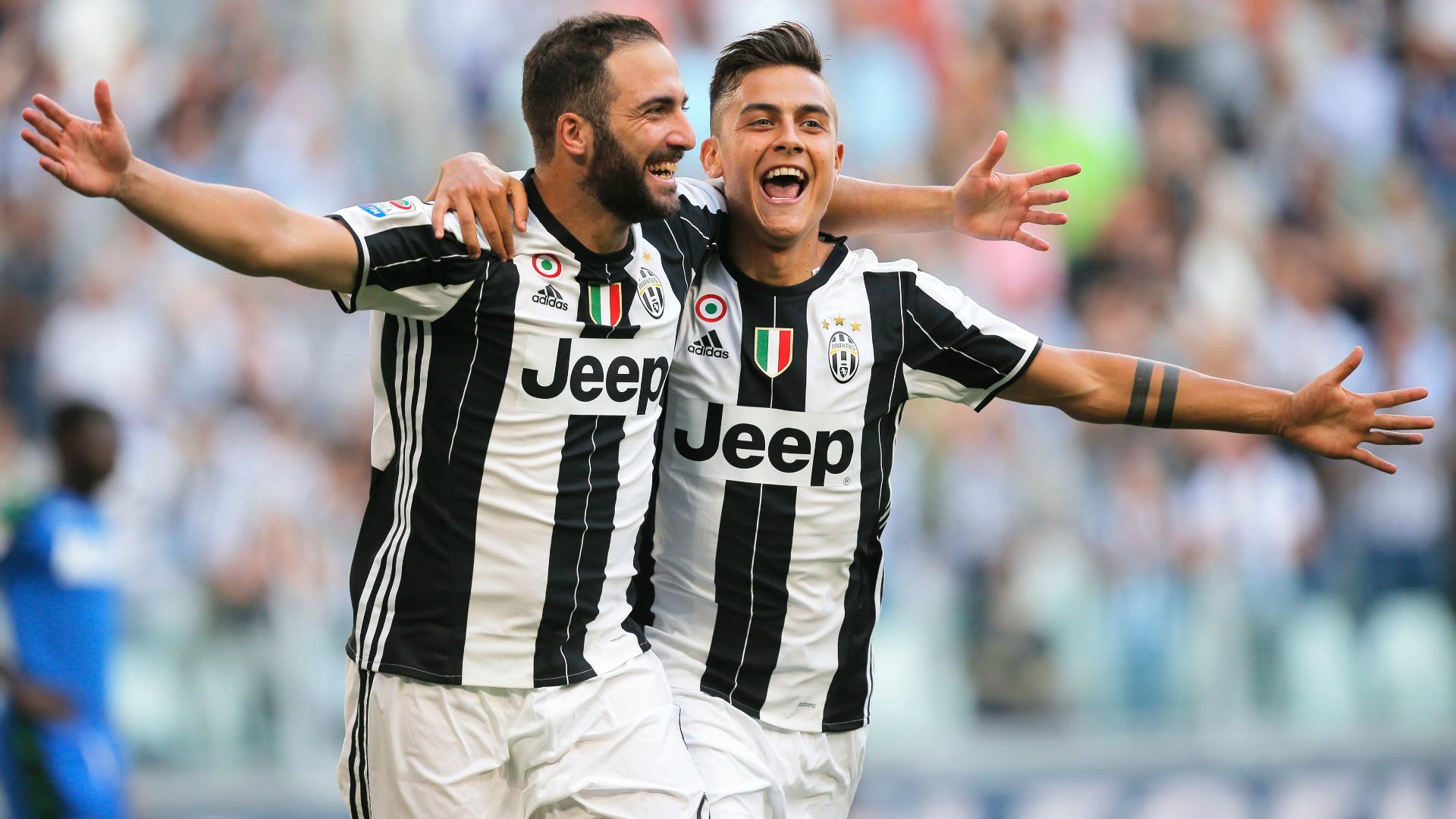 Higuain Dybala Juventus Sassuolo Serie A