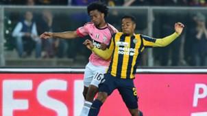 Urby Emanuelson Juan Cuadrado Verona Juventus