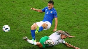 Alessandro Florenzi Italy Ireland Euro 2016