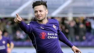 Mauro Zarate Fiorentina Verona