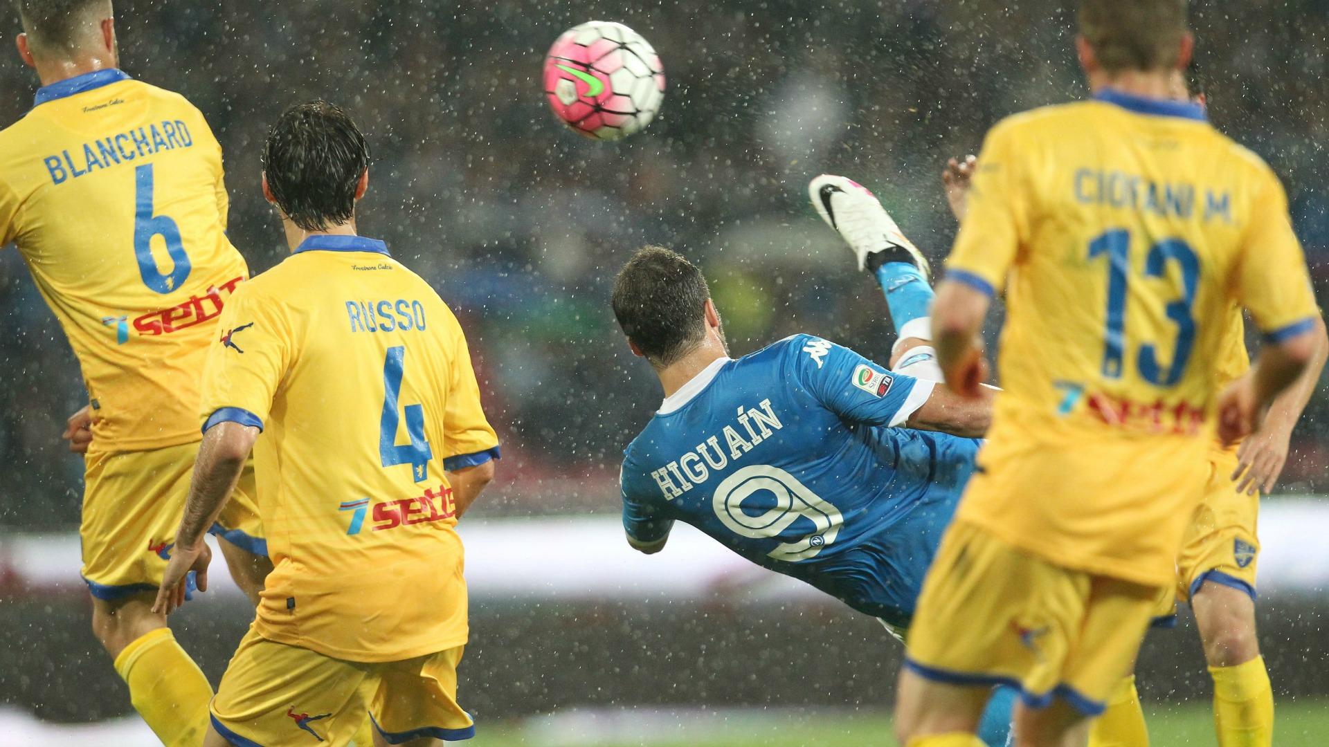 Gonzalo Higuain Napoli Frosinone