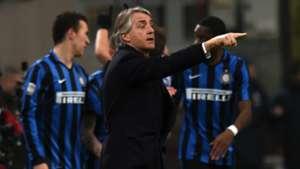 Roberto Mancini Inter Palermo Serie A 06032016