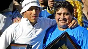 Carlos Tevez Boca Juniors Maradona