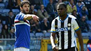 Andrea Ranocchia Duvan Zapata Sampdoria Udinese