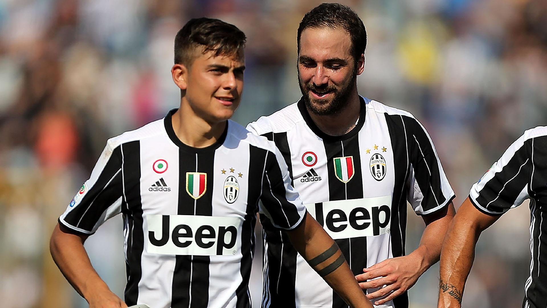Dybala Higuain Empoli Juventus Serie A
