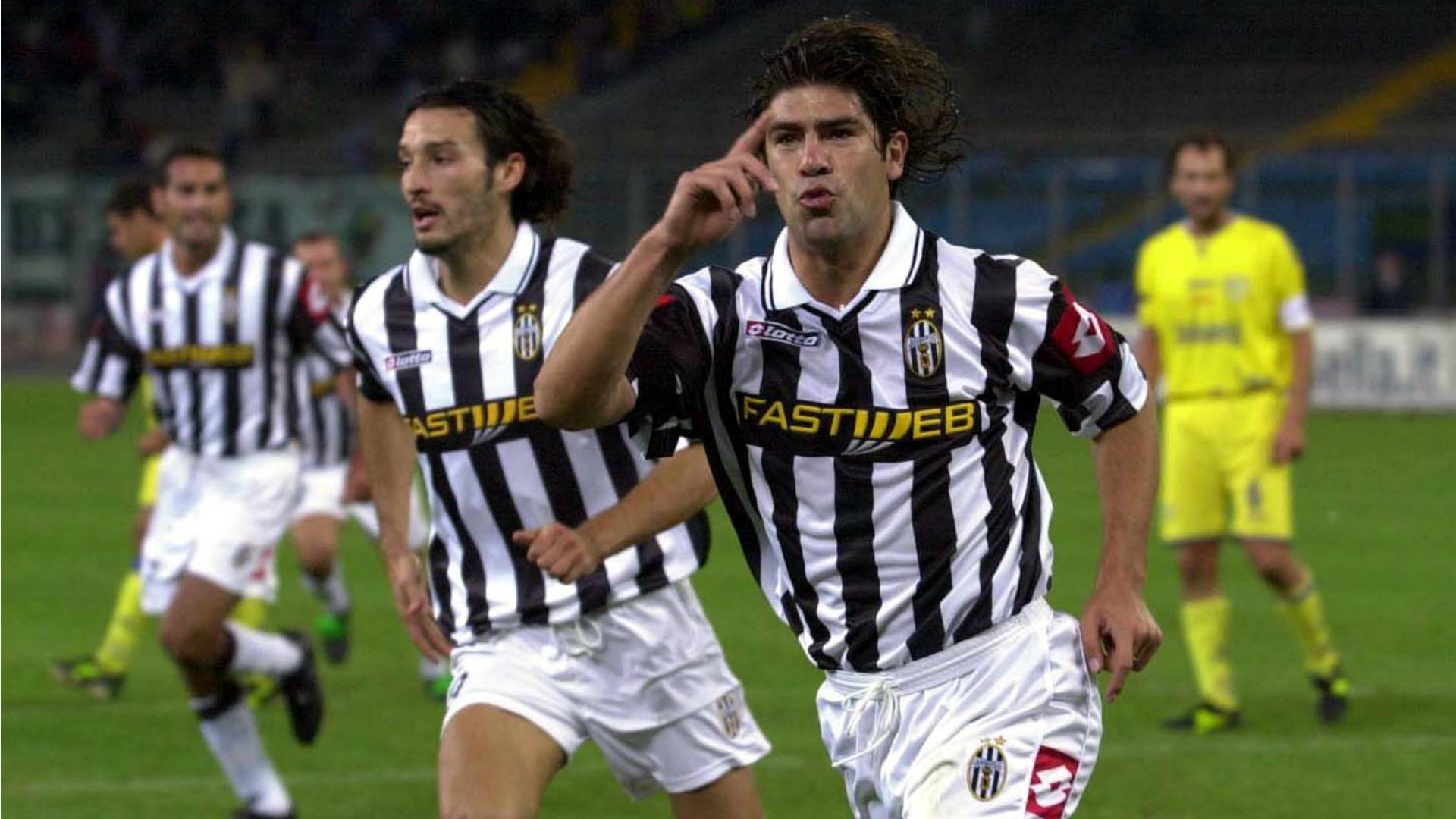 Marcelo Salas Juventus 2001