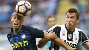 Miranda Mario Mandzukic Inter Juventus Serie A