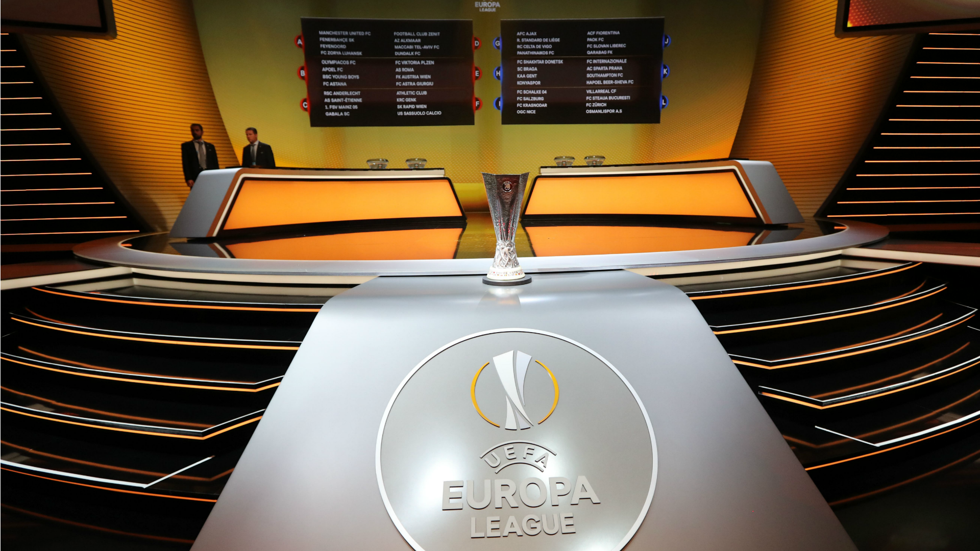 Europa League 2016 draw