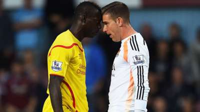 Balotelli Adrian West Ham Liverpool Premier League