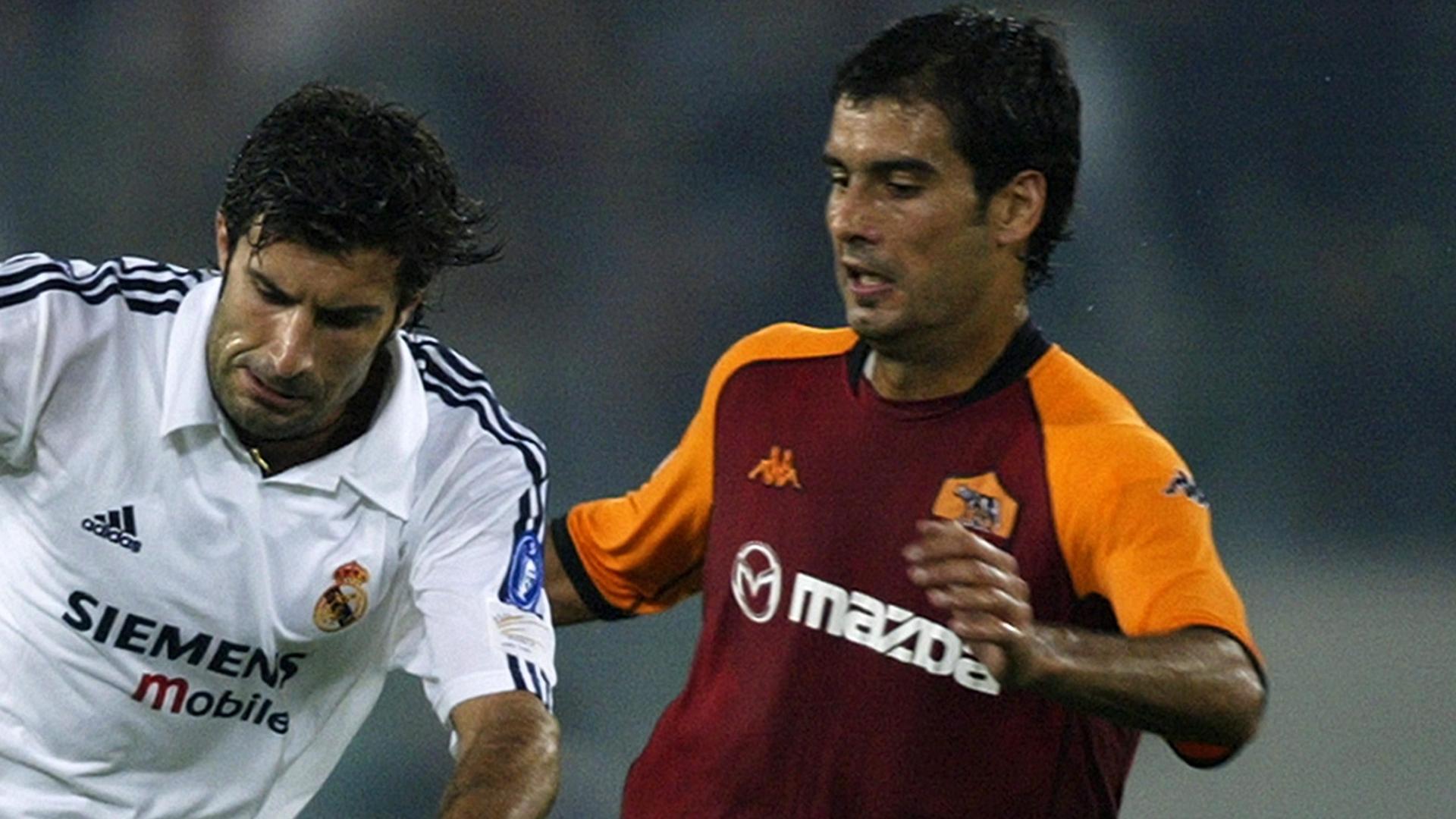 Pep Guardiola Roma