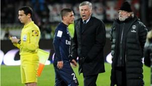 Verratti Ancelotti Paris SG