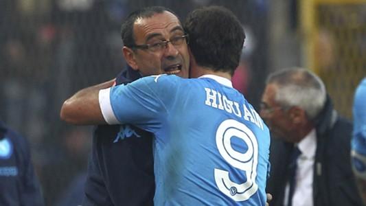 Sarri Higuain Atalanta Napoli Serie A