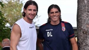 Davide Cacia Diego Lopez Bologna