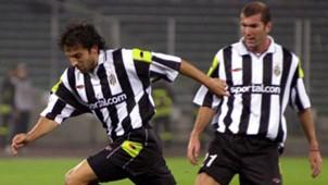 Alessandro Del Piero Zinedine Zidane Panathinaikos Juventus Champions League 08112000