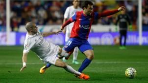 Giuseppe Rossi Pepe Levante Real Madrid La Liga 02/03/2016