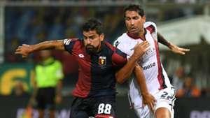 Borriello Rincon Genoa Cagliari Serie A