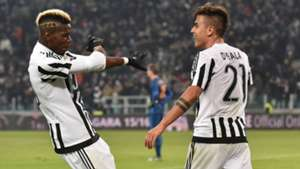 Paul Pogba Paulo Dybala Juventus Roma Serie A