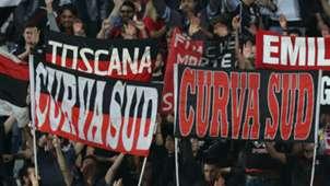 AC Milan fans Serie A