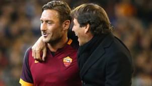 Totti Garcia Roma
