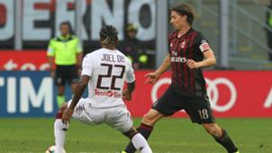 Riccardo Montolivo Joel Obi Milan Torino