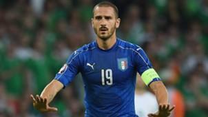 Leonardo Bonucci Italy Ireland Euro 2016