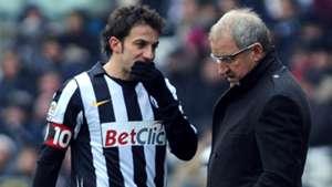 Gigi Del Neri Alessandro Del Piero Juventus