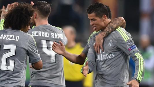 Cristiano Ronaldo Roma Real Madrid Champions League