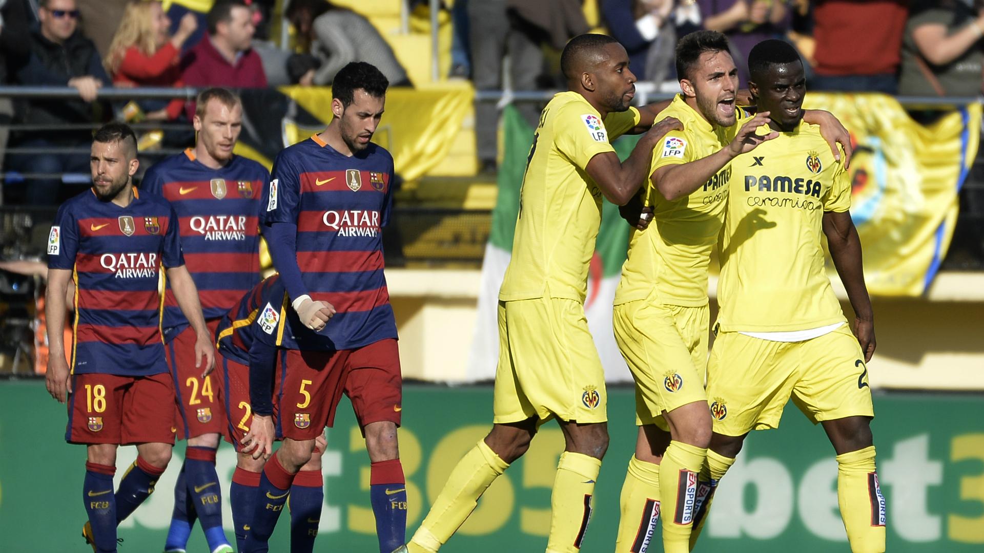Villarreal Barcelona Liga