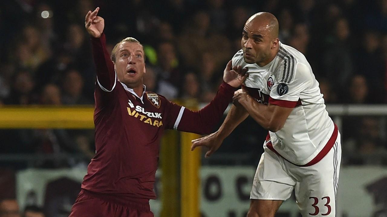 Alex Maxi Lopez Torino Milan Serie A 17102015