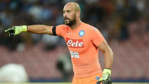 Pepe Reina Napoli Serie A