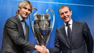 Pavel Nedved Emilio Butragueno Juventus Real Madrid