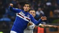 Dodò Pires Jasmin Kurtic Sampdoria Atalanta Serie A 140216