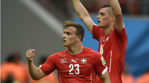 Xhaka Shaqiri Switzerland